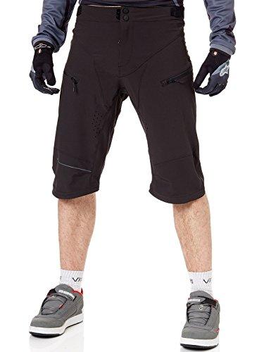 O'NEAL   Mountainbike-Hose   MTB Mountainbike DH Downhill FR Freeride   Wasserdichtes, Atmungsaktives Material, 100% Polyester   Rockstacker Shorts   Erwachsene   Schwarz   Größe 38/54