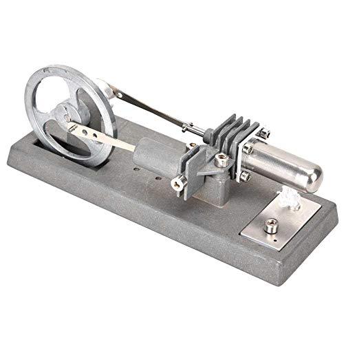 Yosoo 発電機モデルエンジン スターリングエンジン キット 温冷両用 長時間回ります 機械専攻 低温度型 永久機関 熱気スターリングエンジン 低温モータモデル エンジン おもちゃ スチールモーター