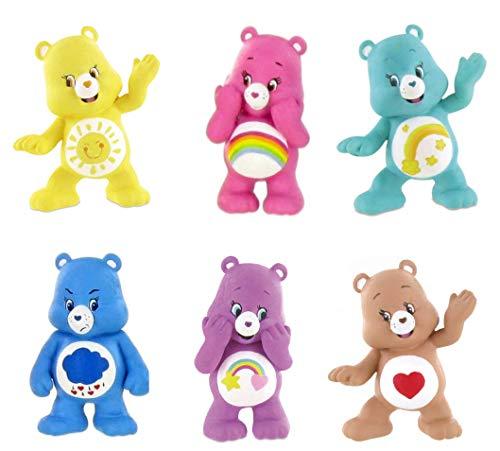 Glücksbärchis Figuren 6cm (6er Set) Carebears Bear Bärchis