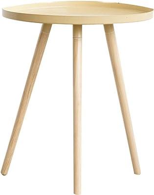 トレイテーブル、木製ラウンドトライアングルテーブル家庭用スタジオストア小さなコーヒーテーブル小さくて軽いそれは移動できますサイズ:4250CM(色:A、サイズ:4250CM)