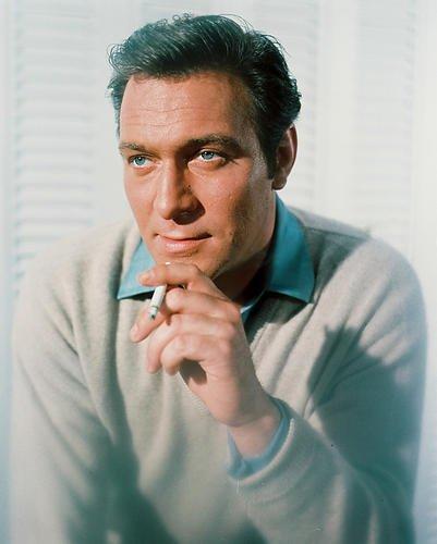 Christopher Plummer Handsome 1960's Color 8x10 Publicity Photo