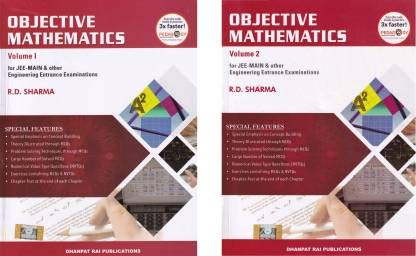 Objective Mathematics for JEE-MAIN and Other Engineering Entrance Examinations (Set of 2 Vols.)