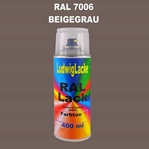 RAL 7006 Beigegrau Matt 400 ml 1K Spray
