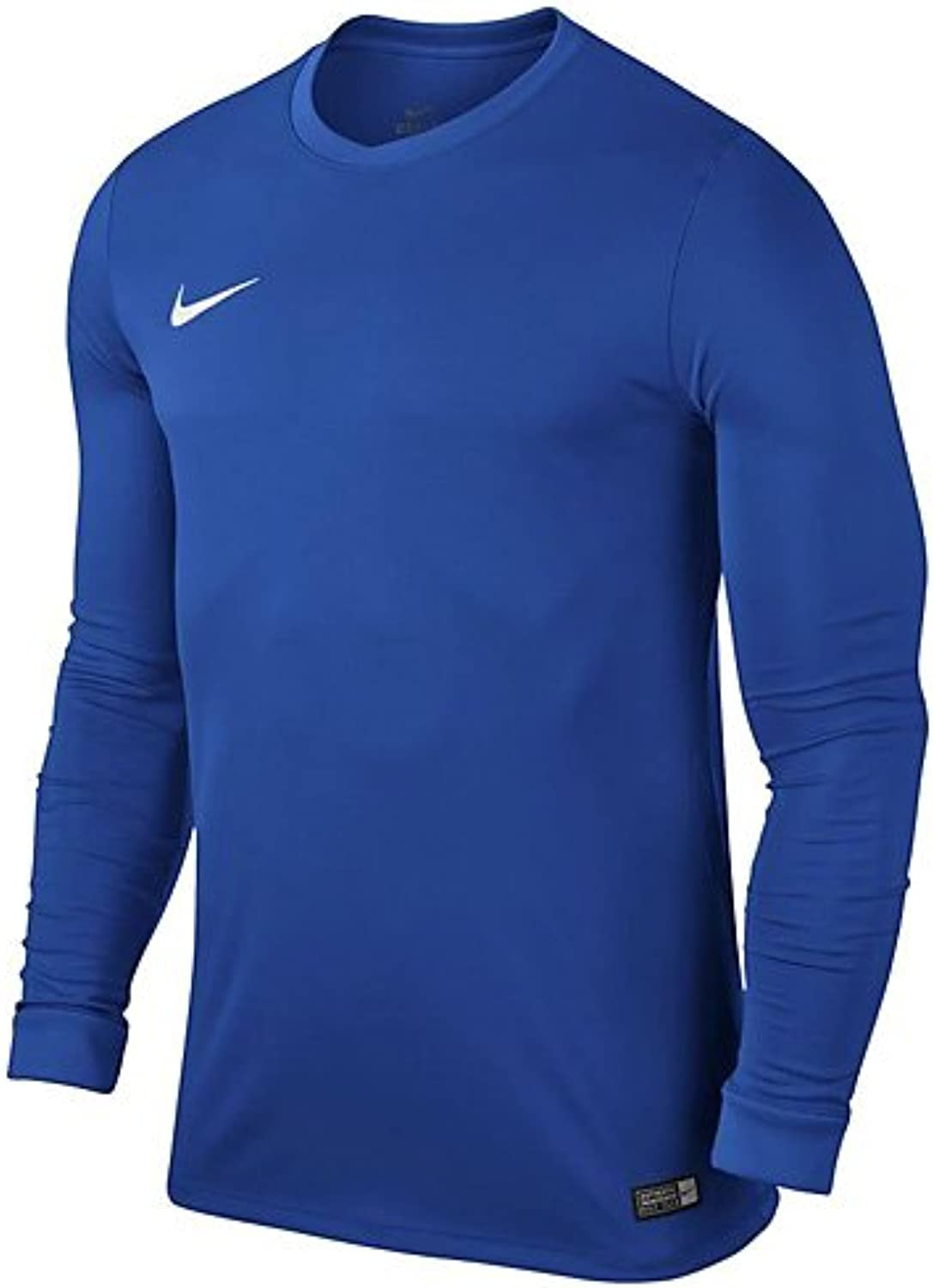 (X-Small, Royal blueee White) - Nike Park VI LS Jersey Junior