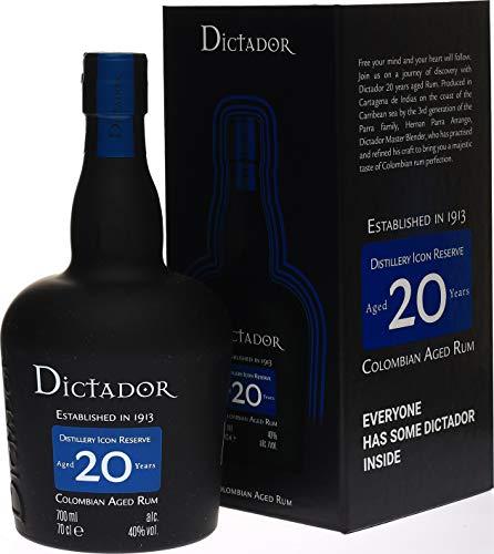 Ron DICTADOR 20 AÑOS, 700 ml