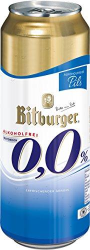 Bitburger Pils Alkoholfreie, EINWEG (24 x 0.5 l)