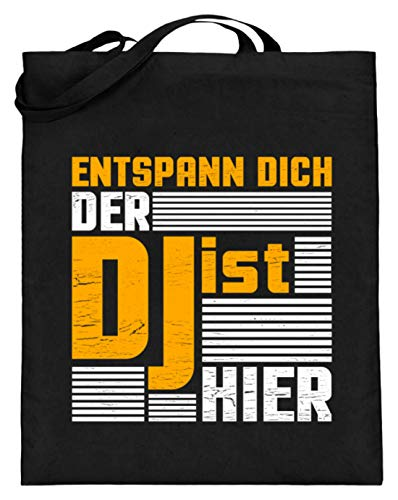 Chorchester platen voor elke discjockey en DJ - jute zak (met lange handvatten)