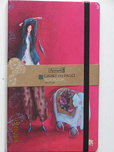 Gaëlle Boissonnard- Einschreibbuch 13 x 21 cm Hard Cover
