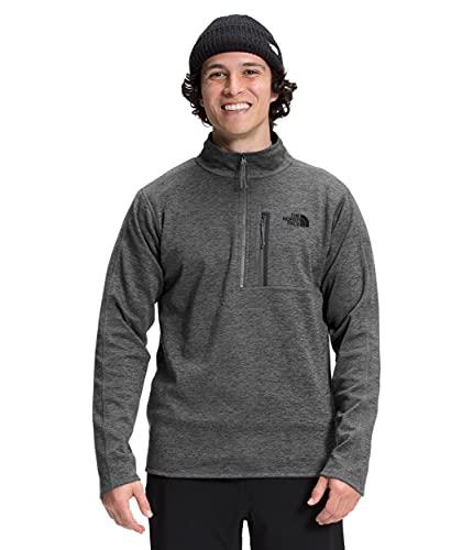 The North Face Men's Canyonlands Half Zip Pullover Sweatshirt, TNF Dark Grey Heather, XL
