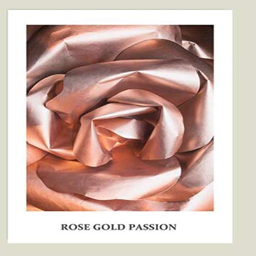 Abstracte roos poster Wall Art canvas schilderij goud bloem Nordic wal-poster