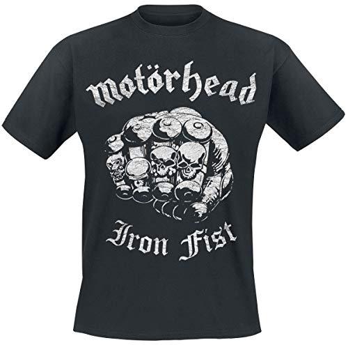 Motörhead Iron Fist US Tour '82 Männer T-Shirt schwarz XL 100% Baumwolle Band-Merch, Bands