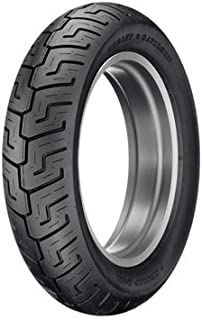 Dunlop D401 Rear Motorcycle Tire 150/80B-16 (77H) Black Wall for Harley-Davidson Softail Standard FXST 2003-2005