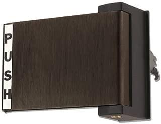 Push Paddle Handle for Adams Rite Storefront Doors, Dark Bronze, Choose Handing (PUSH TO LEFT)