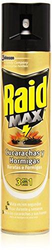 Raid Max - Cucarachas y hormigas 3 en 1 - Mata las...
