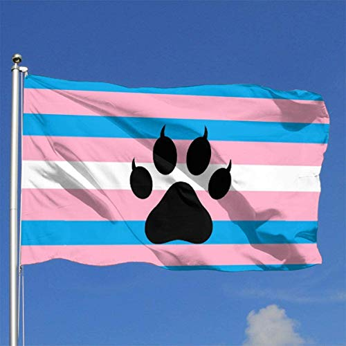 Xhayo Flaggen Transgender Furry Flag 3x5 Ft Flag Outdoor Premium Quality