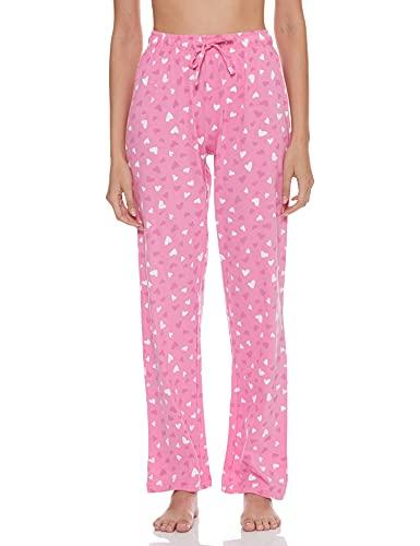 Max Women's Drawstring Pyjama and Roundneck T-Shirt Pajama Set (SP21CS15CANDY Pink_Candy M)