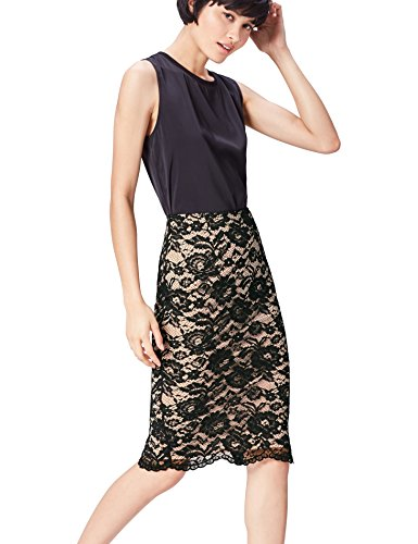 Find. Lace Pencil Falda para Mujer