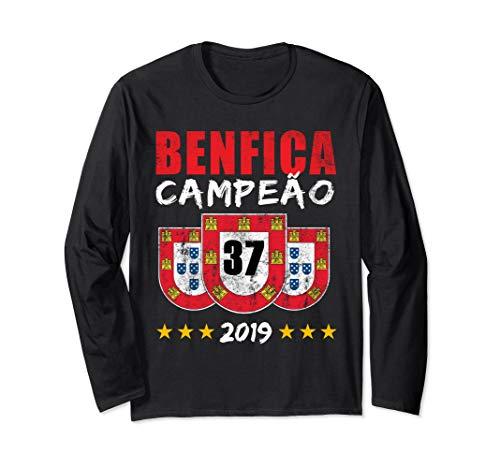 BENFICA CAMPEAO 37 Portugal Reconquista Geschenk Langarmshirt