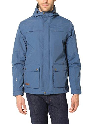 Ultrasport Herren Whistler Parka Glenwood, blau, S, 161161-2020-S