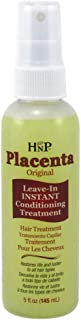 Hask Placenta Leave-In Conditioning Treatment Original 5 Ounce (145ml) (2 Pack)