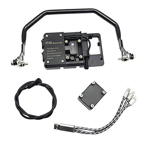 Motorradabdeckung und Leisten Teléfono móvil GPS de navegación del manillar ayuda del sostenedor del soporte 12m m for BMW R1250GS R1250 GS R 1250 GS Adventure GSA Adv 2019 2020 Motorrad-Zubeh