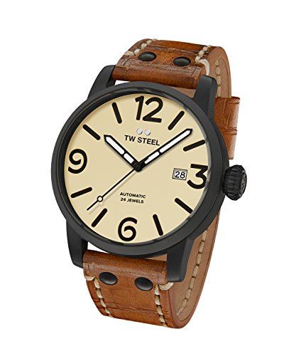 TW Steel Reloj Analogico para Unisex de Automático MS45