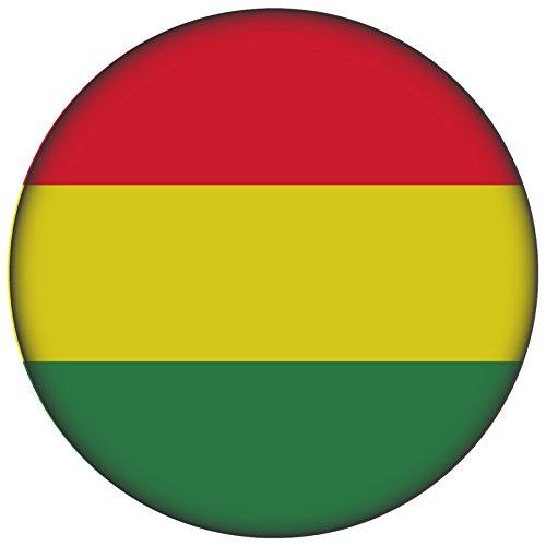 FanShirts4u Button/Badge/Pin - I Love BOLIVIEN Fahne Flagge BOLIVIA (Bolivien/Flagge)