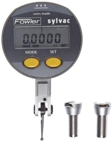 Fowler 54-562-777 QuadraTest Electronic Test Indicator with 1/2