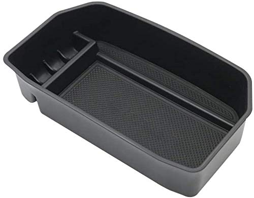 Salusy Car Center Console Armrest Box Glove Box Secondary Storage Compatible for Toyota Land Cruiser 2008-2020