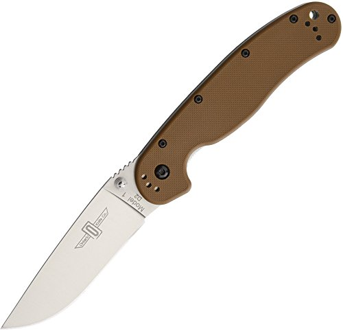 Ontario Rat 1 Linerlock Coyote Brown