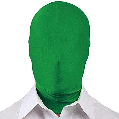 Huntfgold Zentai Maske 2nd Skin Hood Kopf Gesichtsmaske aus Lycra Spandex