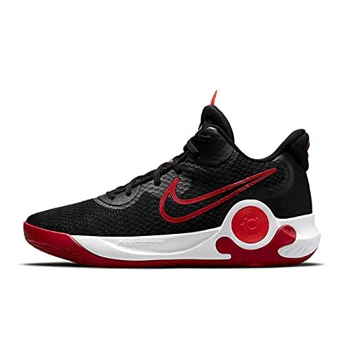 Nike Unisex KD Trey 5 VII Basketballschuhe Black/University Red - White, 41 EU