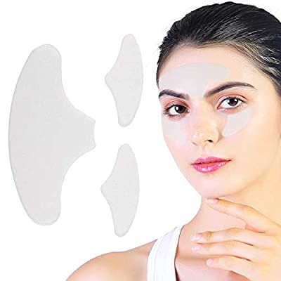 Silicone Pad - Eliminates and Prevents Facial Wrinkles, Reuses, Reduces Fine Lines on the Face, Tightens the Skin and Relaxes the Face from Sonew