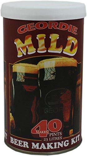 Geordie Kit de cerveza casera suave – hace 40 pintas.