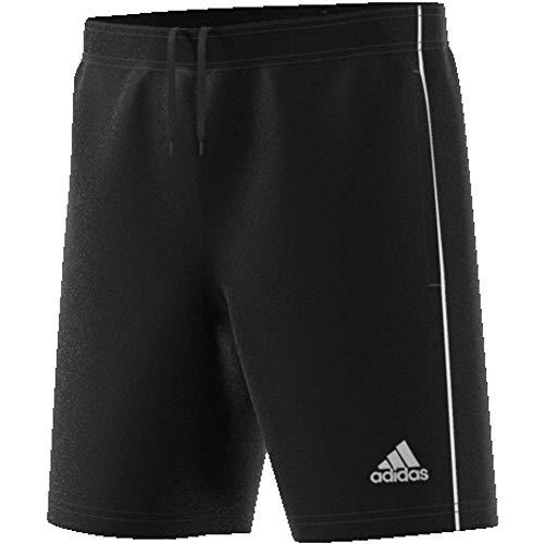 adidas Kinder CORE18 TR Y Shorts CORE18 TR Y CE9030, Schwarz (Black/White), 176 (Herstellergröße: 176)
