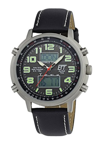 ETT EGS-11301-22L Solar Drive Funk Hunter II Chrono 48mm 10ATM