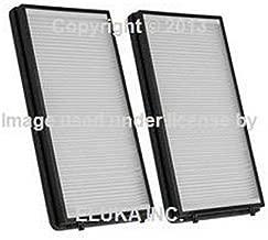 2 X BMW OEM Cabin Air Filter Set - Paper E65 E66 64 11 6 921 018 745i 750i 760i ALPINA B7 745Li 750Li 760Li