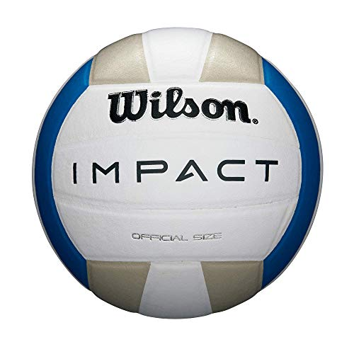 Wilson Impact Indoor Volleyball - Blue/Silver/White