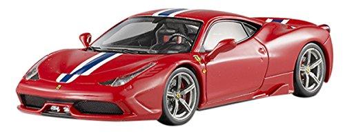 Hotwheels - Elite (Mattel) - Bly45 - Véhicule Miniature - Modèle À L'échelle - Ferrari 458 Spéciale - Echelle 1/43