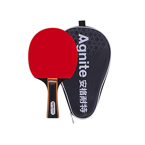 Review Of MUZIWENJU One Star Table Tennis Racket Horizontal Double-Sided Anti-Adhesive Arc Fast Brea...