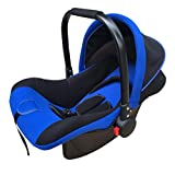 GHGJU Cama Cuna for niños Cuna for bebés Cama Plegable asa multifunción batido Azul Los Productos for bebés le brindan a su Hijo un Ambiente cómodo for Dormir (Color : Blue)