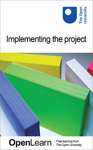 Couverture du livre Implementing the project (English Edition)