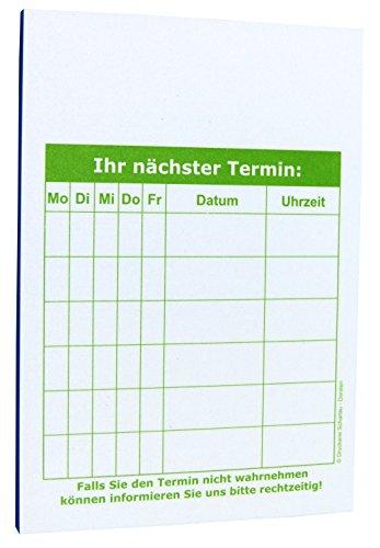 32 x Terminblöcke Terminblock Nr.1 -Terminzettel Termine - Praxis Studio Ärzte Frisör, Maniküre (22641_64K)