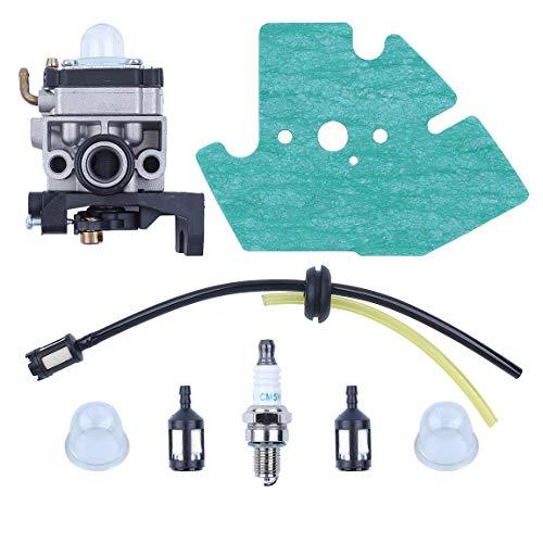 Haishine Vergaser Carb Dichtung Zündkerze Kraftstoffschlauch Kit für Honda GX25 GX35 GX 25 35 HHT35 HHT35S FG110 Trimmer Mäher Motor