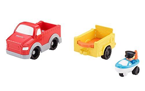 Fisher - pris små människor hjul fiskebåt (Cdh63)