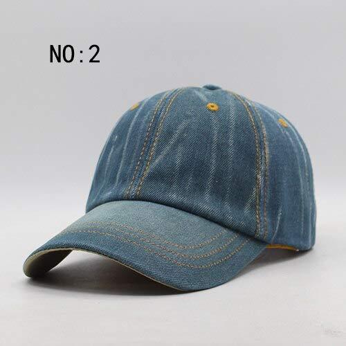 GMZXX baseballpet voor dames en heren, met merknamen, voor dames, vouwbone jeans, denim