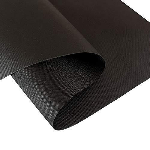 Rapid Teck Scheurbestendig worteldoek, 130 g/m2, tuindoek, onkruidbeschermingsdoek met hoge UV-stabilisatie, afdekvlies, bodemweefsel, onkruidfolie, onkruidvlies 20m x 1,5m zwart