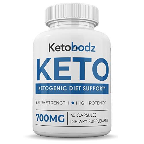 Ketobodz - Keto - Ketogenic Diet Support - Extra Strength - High Potency - 700MG - 60 Capsules - 1 Month Supply Keto Bodz Pills