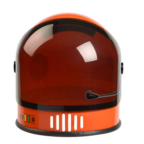 Aeromax ASO-Helmet Youth Astronaut Helmet with Movable Visor, Orange, Youth Size fits Most Ages 3-10