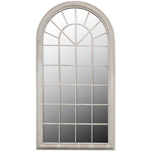 Festnight Miroir pour Jardin Décoratif Arche Rustique 116 x 60cm 89 x 69cm 115 x 50cm
